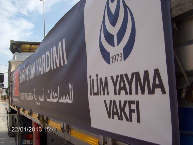 Suriye İçin Yardım  - Haberler - İlim Yayma Vakfı, İYV