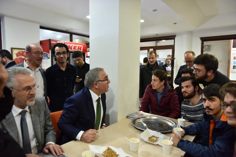 Toki Başkanı Mehmet Ergün Turan Misafirimiz Oldu - Haberler - İlim Yayma Vakfı, İYV