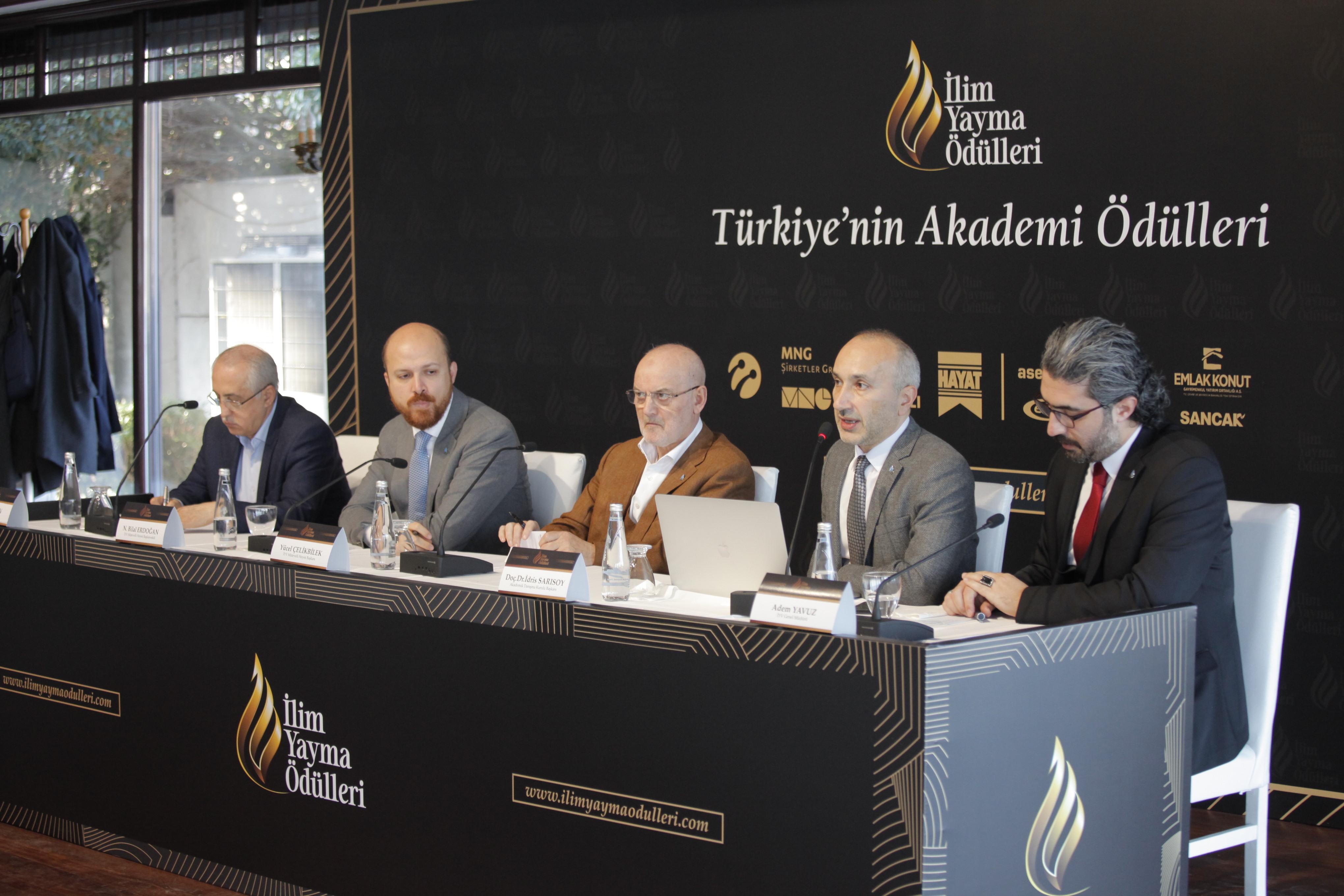 Türkiyenin En Büyük Akademi Ödülleri 22 Aralıkta Sahiplerini Buluyor - Haberler - İlim Yayma Vakfı, İYV