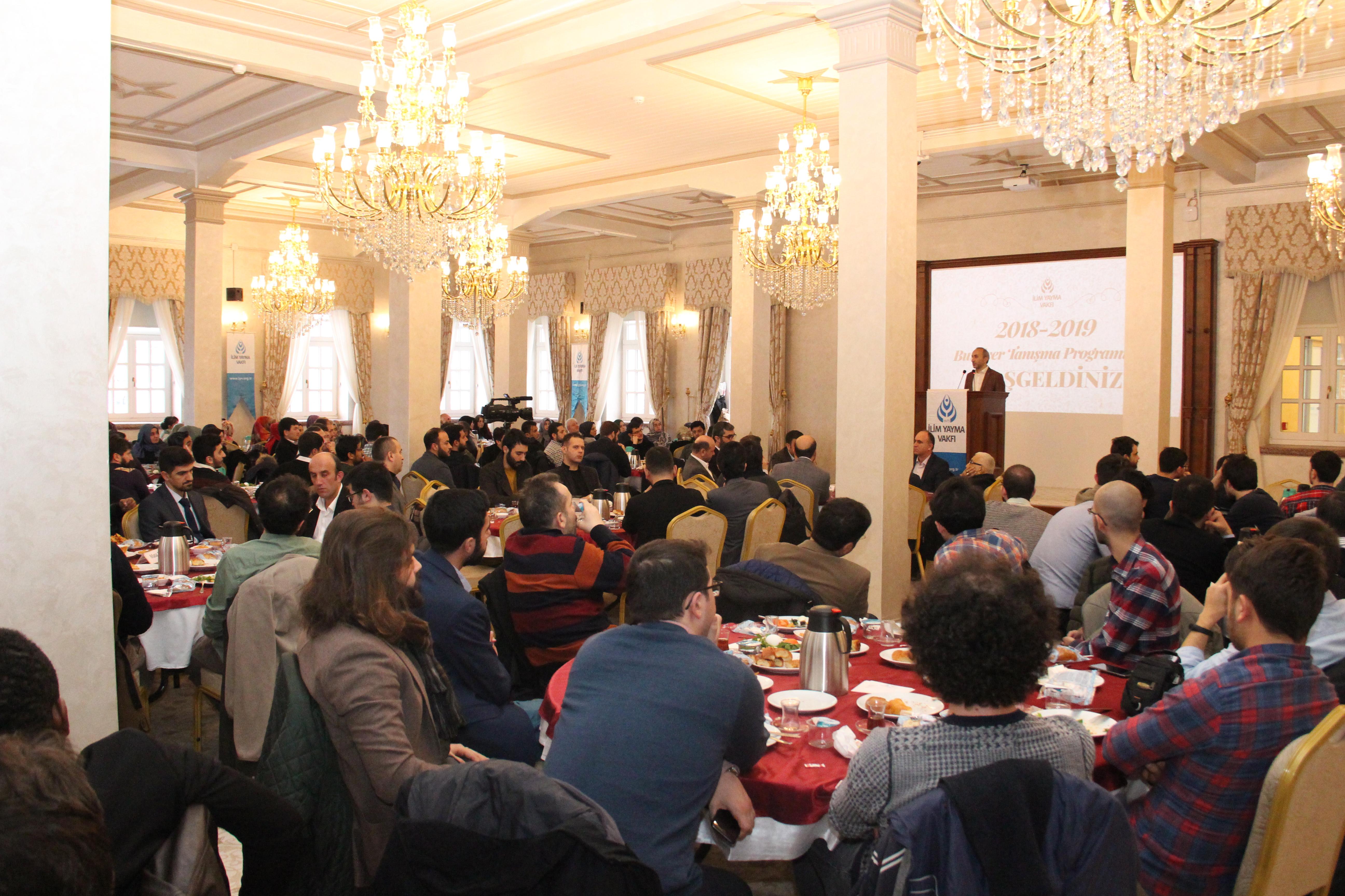 İlim Yayma Vakfı Genç Akademisyenler İle Tanışma Toplantısında Buluştu - Haberler - İlim Yayma Vakfı, İYV